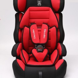 Автокресло Chiccolino KIss red (черно-красный)