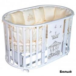 Круглая кроватка SOFIA 2 Crown